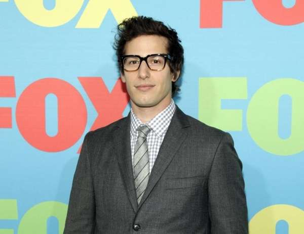 Actor Andy Samberg attends the FOX Network Upfront