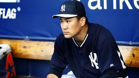 Pitcher Masahiro Tanaka of the New York Yankees