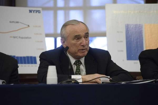 New York City Police Commissioner William J. Bratton