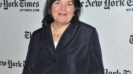 Cookbook author and Food Network star Ina Garten