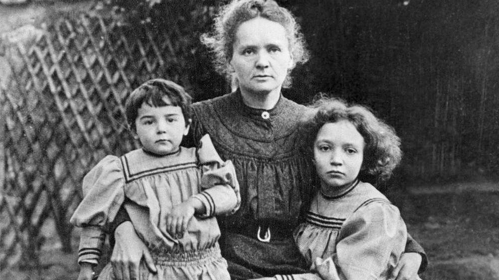 Marie Curie, pictured in a 1908 photo with
