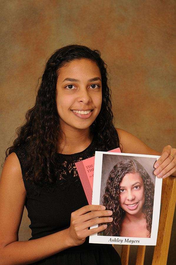 Ashley Mayers, Nassau County Scholar Artist for March,