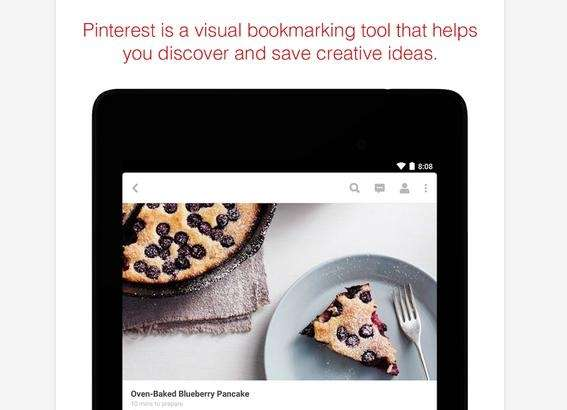 Pinterest is a visual bookmarking tool that helps