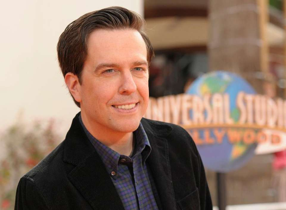 Actor Ed Helms worked as a correspondent for