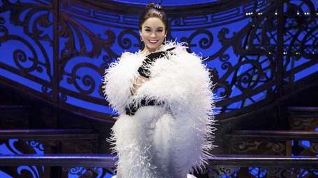 Vanessa Hudgens as Gigi in the new Broadway