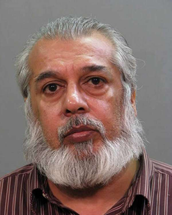 Mohammad Afzal, 56, of Elmont, was arrested Thursday,