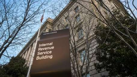 The Internal Revenue Service headquarters building in Washington,