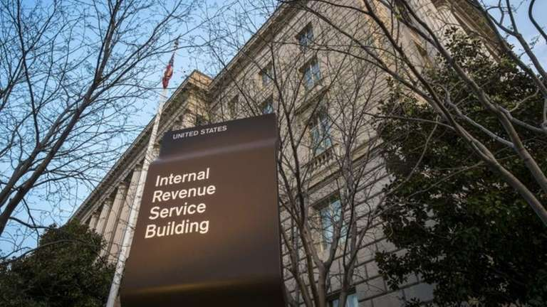The Internal Revenue Service headquarters building in Washington,