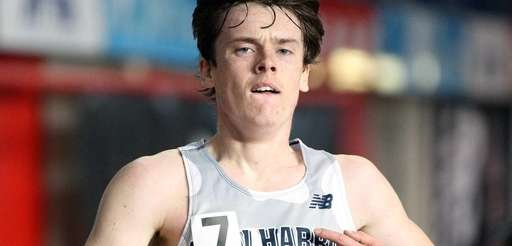Northport's Mike Brannigan runs in the boys 5,000-meter