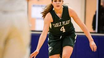 Carle Place's Kacey Burden drives during the Class