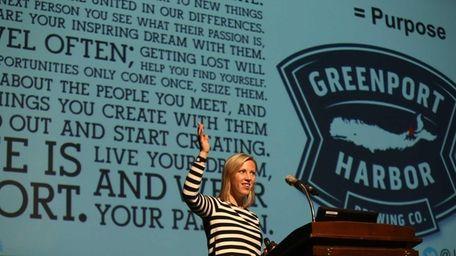 Joan Kuhl, founder of Why Millennials Matter, speaks