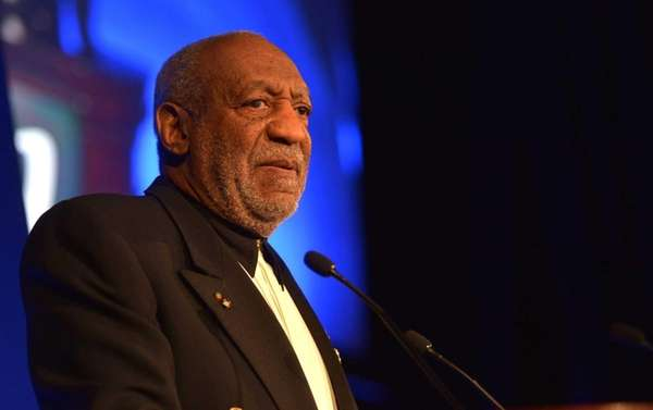 Bill Cosby was heckled at a show in