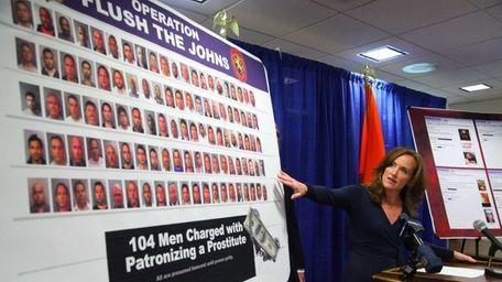 Nassau District Attorney Kathleen Rice and Nassau Police