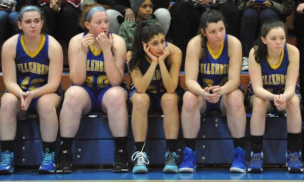Faces grow long on the Kellenberg bench as
