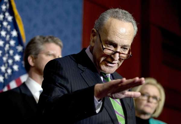 Sen. Chuck Schumer, D-N.Y. is shown during a