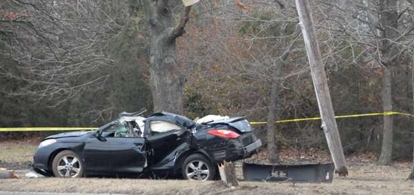 Police are investigating a one-car crash Sunday morning,