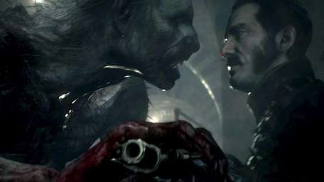 Screengrab from video game : The Order: 1886