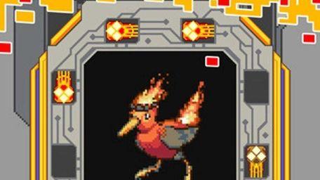Screengrab from video game : MegaBits By MegaBits