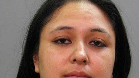 Alondra L. Reyes-Gonzalez, 31, of Hempstead, was arrested
