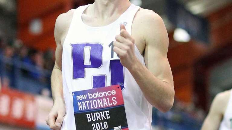 Port Jefferson's James Burke captures second place in