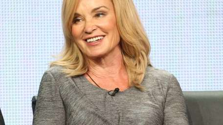 Jessica Lange speaks onstage during the