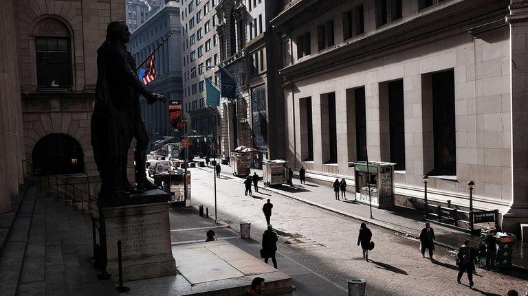 Stocks headed up sharply Monday, March 16, 2015,