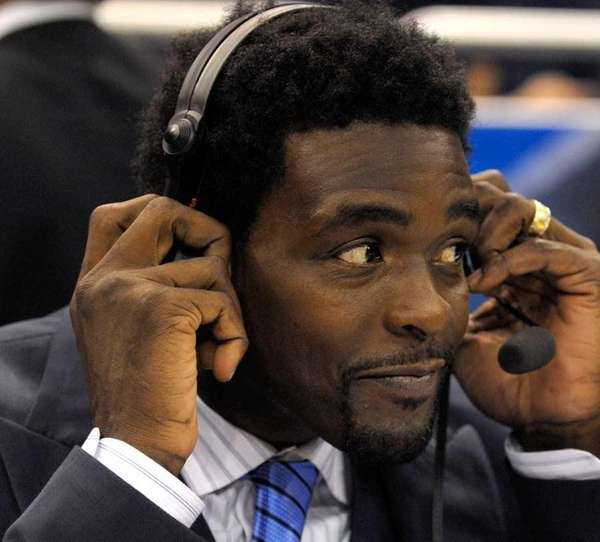 Chris Webber works as an NBA analyst for