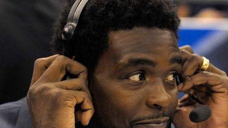Chris Webber works as an NBA analyst for