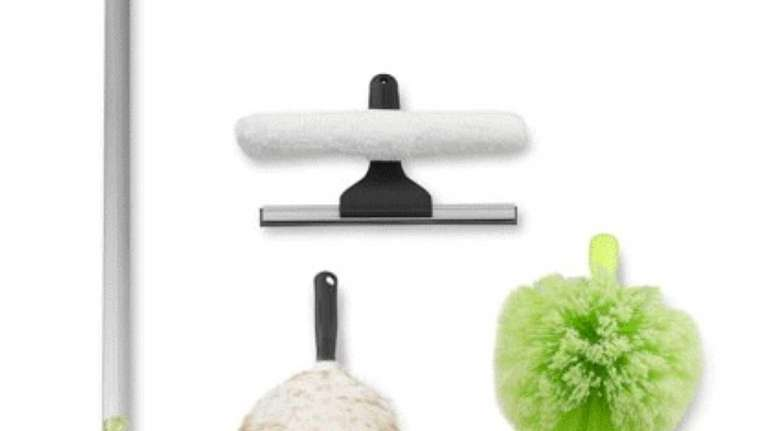 Extend your cleaning reach. Here is a cleaning