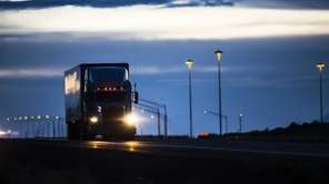 Under federal law, truckers who drive interstate routes