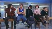 """The Breakfast Club"" stars (from left) Judd Nelson,"