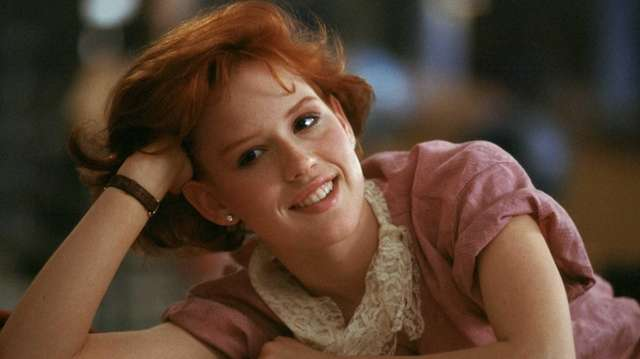 """Molly Ringwald in """"The Breakfast Club."""" The iconic"""