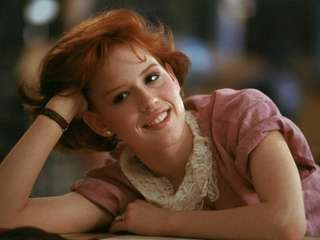 "Molly Ringwald in ""The Breakfast Club."" The iconic"