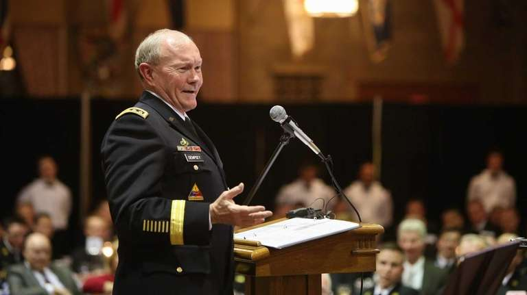 Army Gen. Martin Dempsey, chairman of the Joint