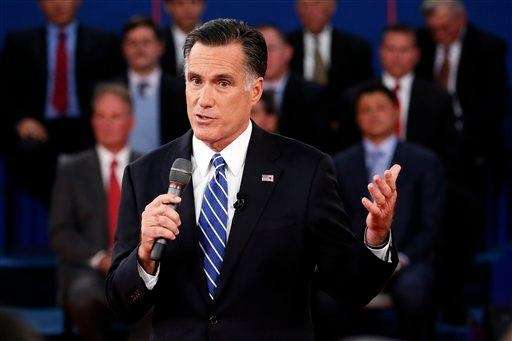 Former Republican presidential candidate Mitt Romney and five-time