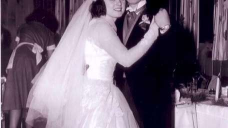 Roseann and Vinny Roslak on their wedding day,