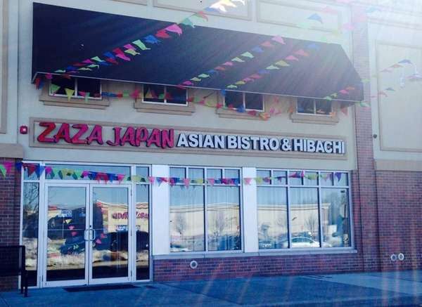 The exterior of the new Zaza Japan Asian