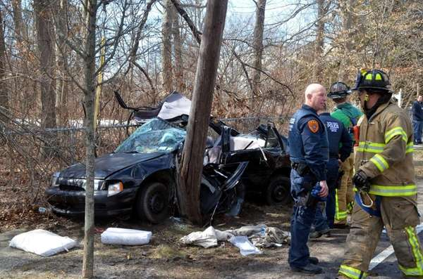 The driver was in critical condition Tuesday afternoon,