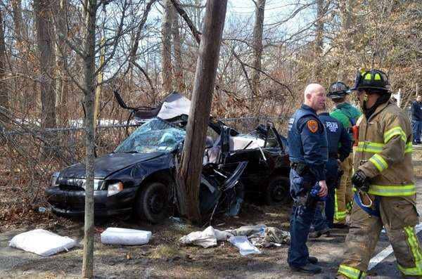 A driver was injured on March 17, 2015