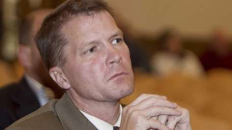 Southold Town Supervisor Scott Russell on Oct. 18,