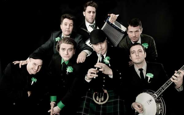 The band Dropkick Murphys played with special guests
