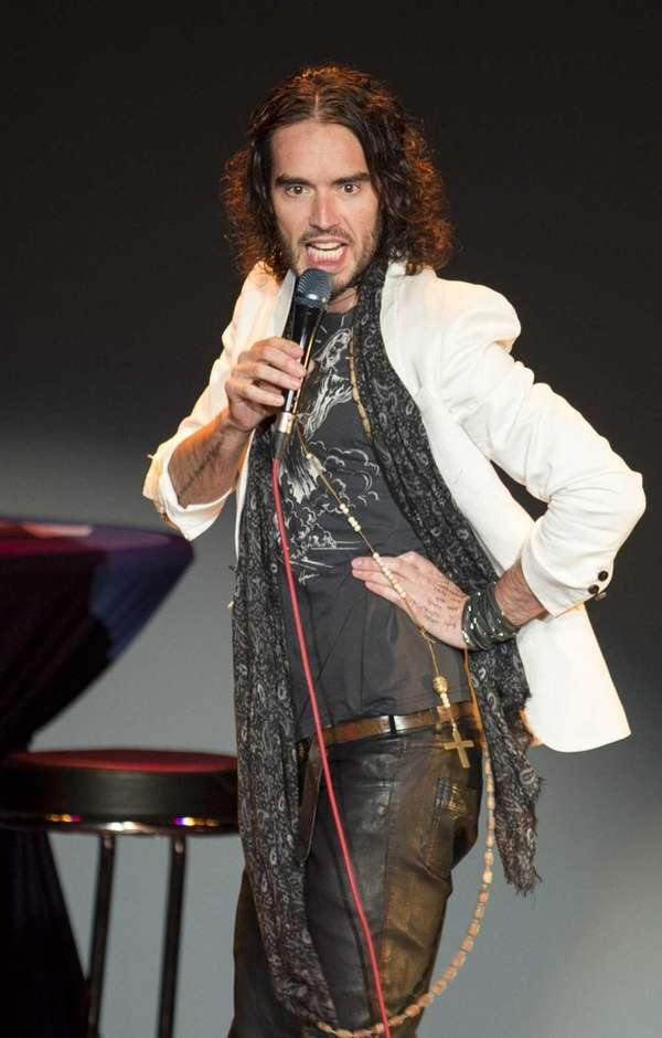 Russell Brand on February 9, 2014.
