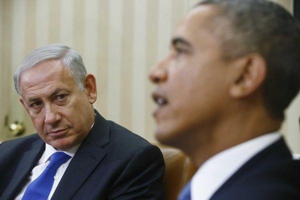 President Barack Obama meets with Israeli Prime Minister