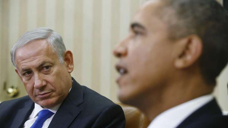 President Barack Obama meets with Israeli Prime Minister