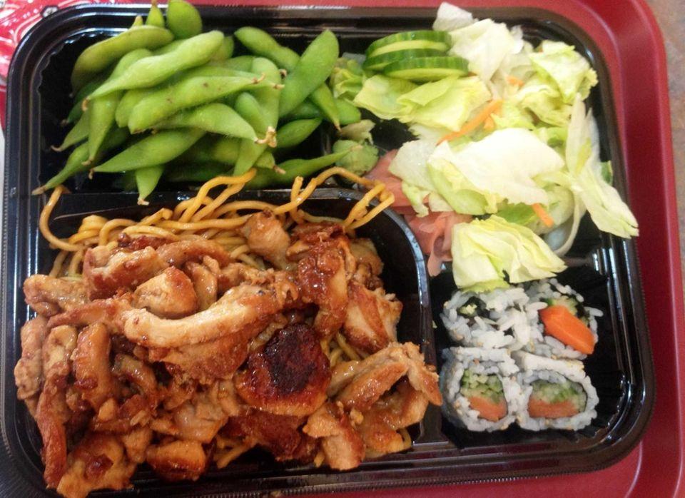 Sushi, teriyaki and tempura are the draws at