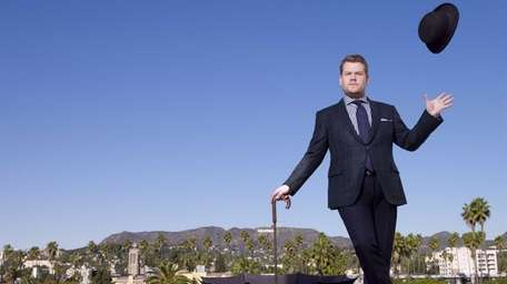 James Corden takes over as host of
