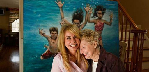 From left, artist JoAnne Von Zwehl, of Brookville,