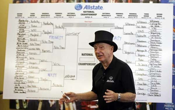 Basketball analyst Dick Vitale explains his tournament picks