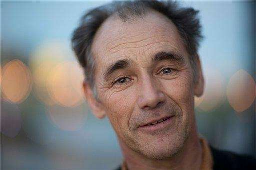 British actor Mark Rylance, who plays Thomas Cromwell