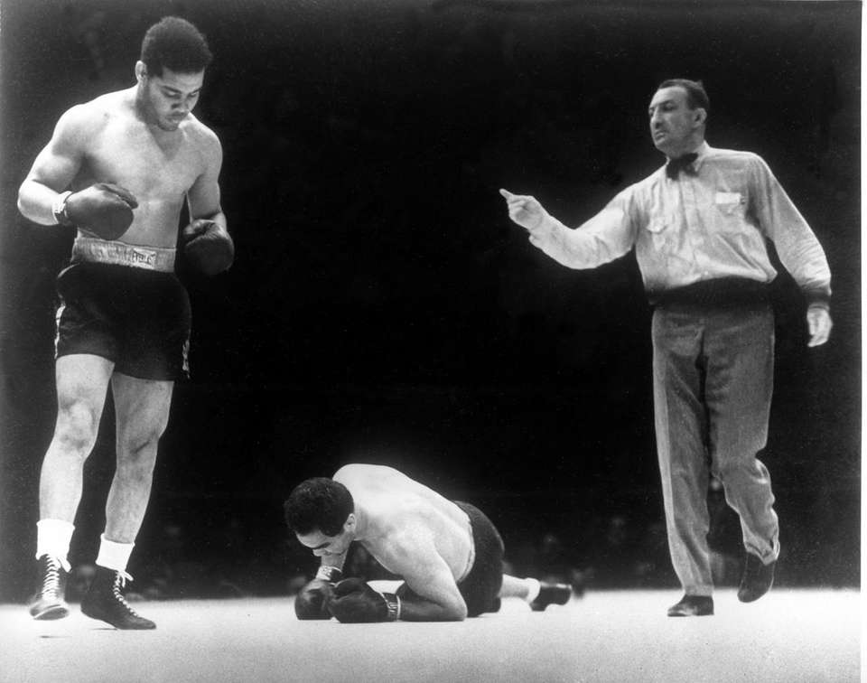 The second fight between Joe Louis and Max